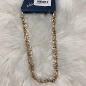 4/$20 Universal Thread Gold & Silver Necklaces
